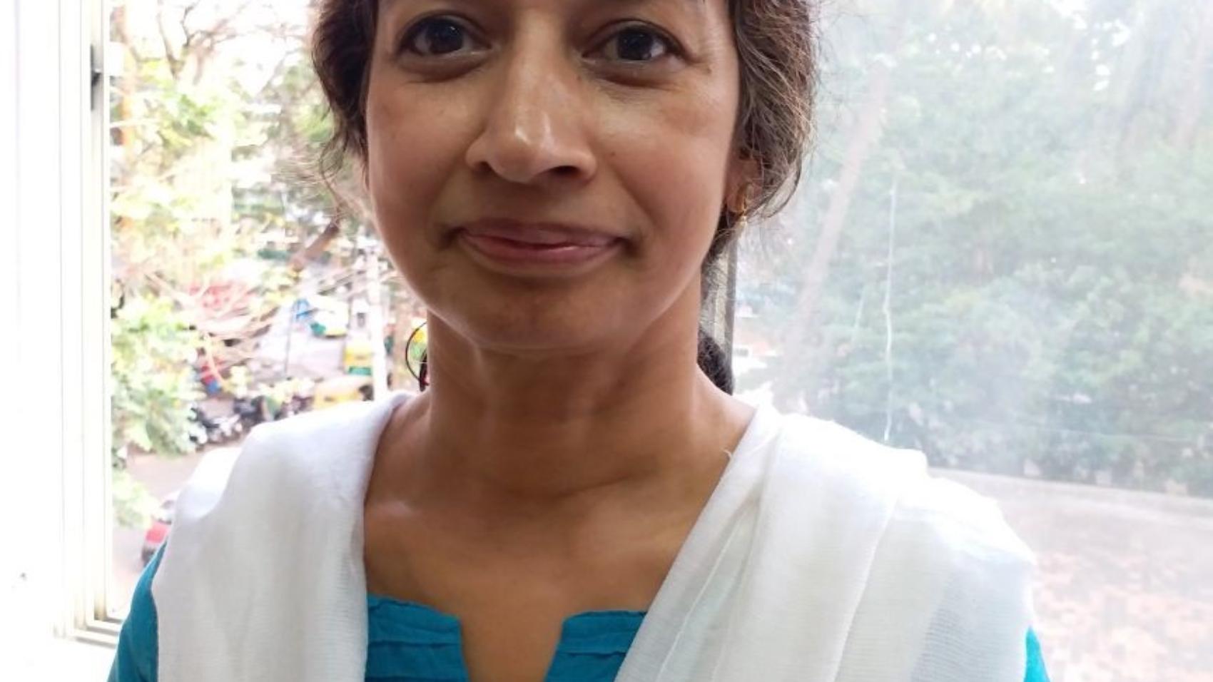 Susheela Volunteer at Counselling in Bangalore for Vishwas